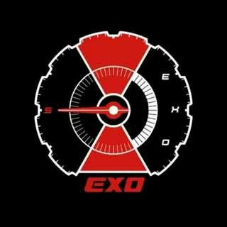 (NONPROFIT) [INTERNATIONAL EDITION] EXO DON'T MESS UP MY TEMPO ALBUM GROUP ORDER