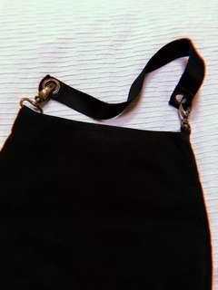United Colors of Benetton Black Sack Bag