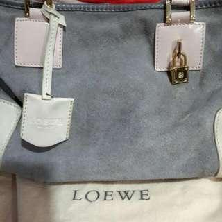 *Priced Reduced* Authentic Loewe Amazona Suede Bag
