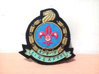 Old Scouts Badge Singapore