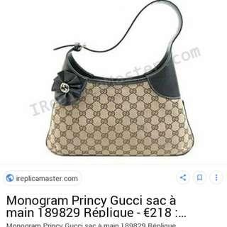Auth Gucci handbag