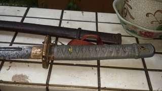 二戰日本軍刀。