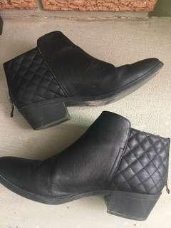EUC Black Booties Call It Spring (Size 7)