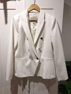 White Blazer size 16
