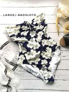 Onepiece floral swimsuit