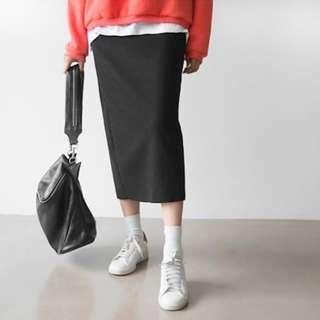 NEW Korean BLACK 3/4 skirt, women, kpop, sporty, stylish, feminie, girly