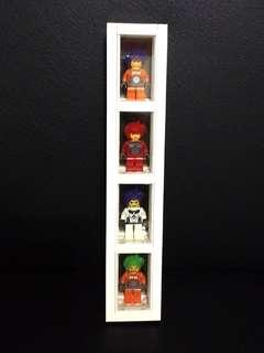 "Lego minifigures "" framed exo-force minifigures """