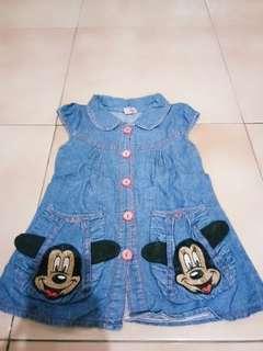 Dress cantik jeans