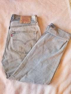 Levi's red tab high waisted mom vintage retro jeans 33""