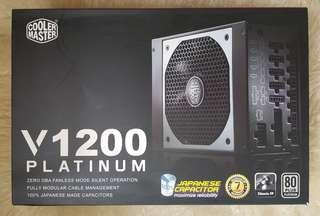 Cooler Master V1200 Platinum Power Supply Unit PSU