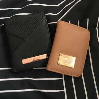 x2 Colette Hayman Wallet & Card Holder