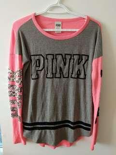VS PINK lounge top