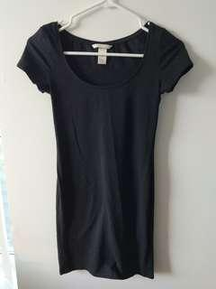 H&M basic tshirt dress