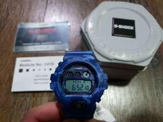 Blue Camo Casio G-Shock GMDS6900CF - 2