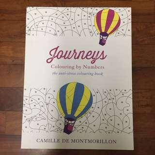 Journeys Colouring Book By Numbers (for Adults)