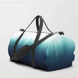 Teal ombré — Duffel bag