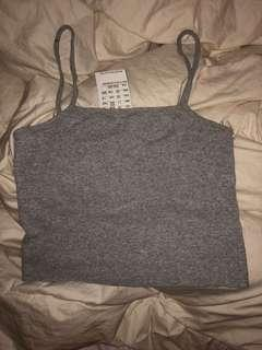 BNWT Brandy Melville Grey Tank Top