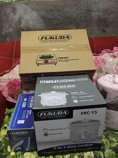 For Sale!!!! All Brand new Single Burner, iron and Rice cooker