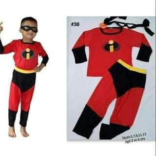 The Incredibles Costume Pants & Shirt