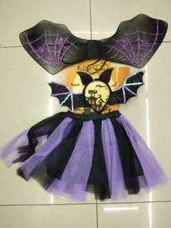 Witch Bat Fairy Halloween Costume