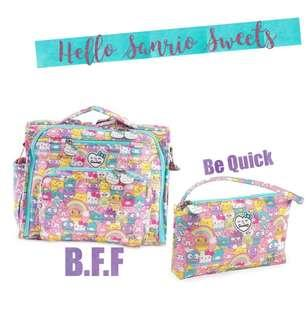 Jujube hello sanrio sweets BFF and be quick bundle
