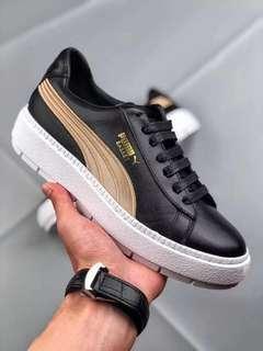 Puma Platform Trace Varsity 'Black / Gold'