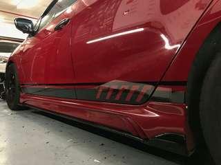 custom racing stripe
