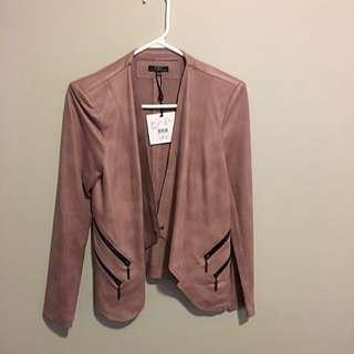 Dusty Rose Pink Blazer