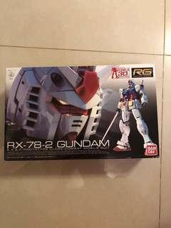 Bandai RX-78-2 Gundam 30週年版