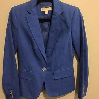 Reduced Price! Michael Kors Blazer - Cobalt Blue