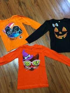 Bundle of cute trick or treat Shirts