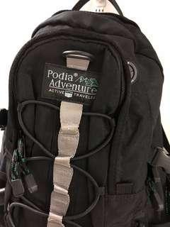 全新Podia Adventure背包 黑色背囊backpack