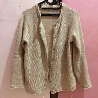 Bigsize Cardigan Sweater