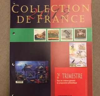 Stamp Collection de France 2012