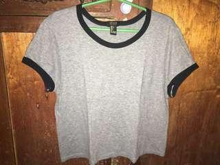 Forever21 Top (Grey)