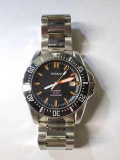 Parnis diver 200 automatic watch proplof Seamaster homage