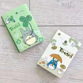 Totoro Sticky Note Pad - Folded (2 Designs)