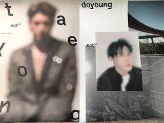 [WTS] NCT 127 Doyoung Regular and Taeyong Irregular Posters