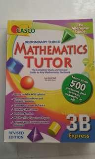 Mathematics Tutor 3B Express