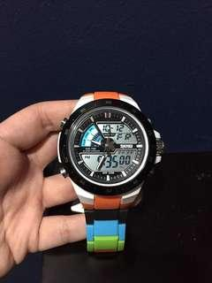 Multi-colored Watch