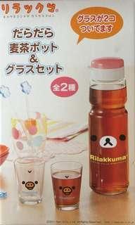 🚚 可愛熊寶寶 玻璃水瓶