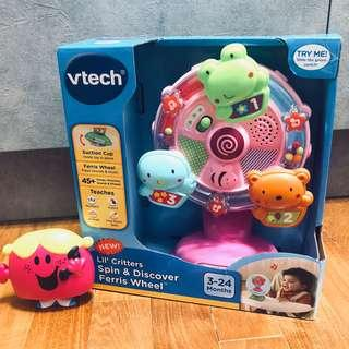 ~Ready Stocked~ VTech Lil' Critters Spin & Discover Ferris Wheel, Pink