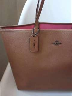 SALE Coach Tote Reversible Authentic