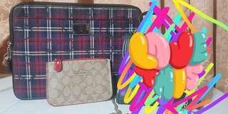 Coach poppy file bag