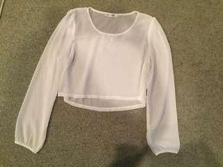 Long sleeve top! Size 10