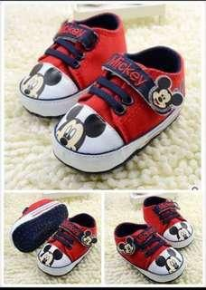 Mickey & Minnie Baby Shoes
