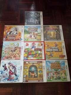 2nd NINTENDO 3DS GAMES (GOOD CONDITION)