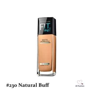 🚚 💕 Instock 💕 Maybelline Fit Me Matte + Poreless Foundation 💋 #230 Natural Buff 💋