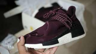 Adidas Human Race Friend and Fam Burgundy