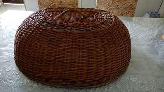 Rattan Basket Tudung saji